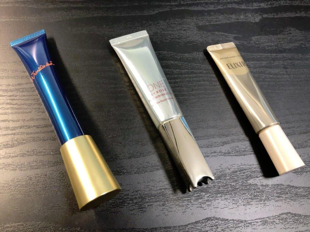 シワ改善化粧品まとめ ~各製品の特徴と用途・肌質別お勧めアイテム~