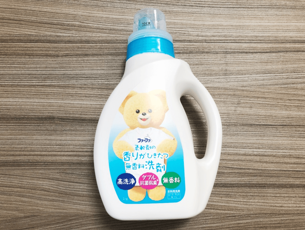 ファーファの「柔軟剤の香り引き立つ無香料洗剤」がいつの間にか成分変更…??