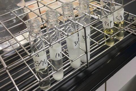 【アレンジテクニック】 クレンジングオイルの「乳化」について