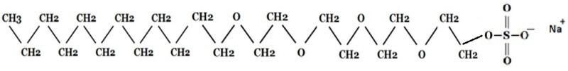 ラウレス硫酸Naについて