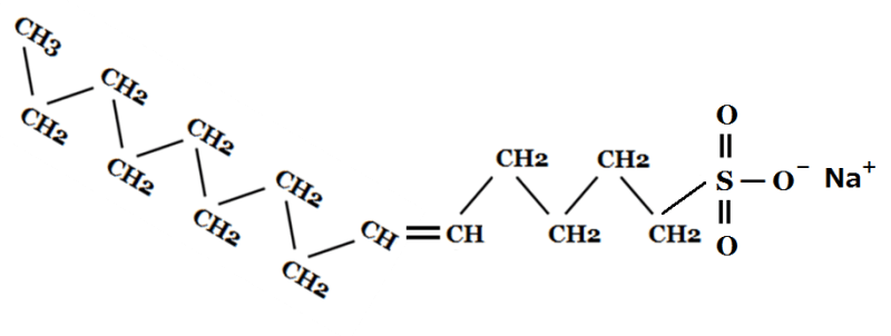 オレフィン(C14-C16)スルホン酸Naについて