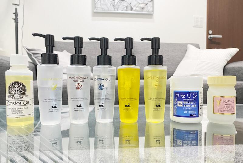 油脂は朝も使える?紫外線対策になる?まつ毛伸びるって本当?用途別お勧めは?…油脂にまつわるQ&A