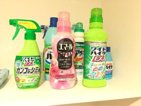 かずのすけのお洗濯事情 【おしゃれ着洗剤】活用術!
