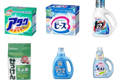 洗濯用洗剤について ~界面活性剤毎の洗浄特性まとめ~